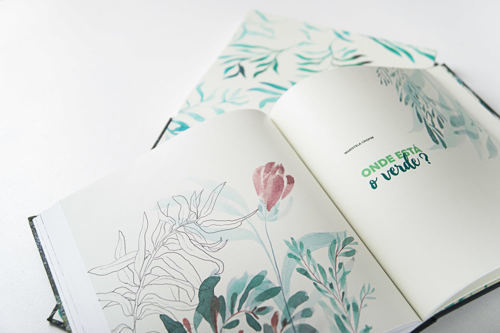 Sonhos Verdes - editorial project